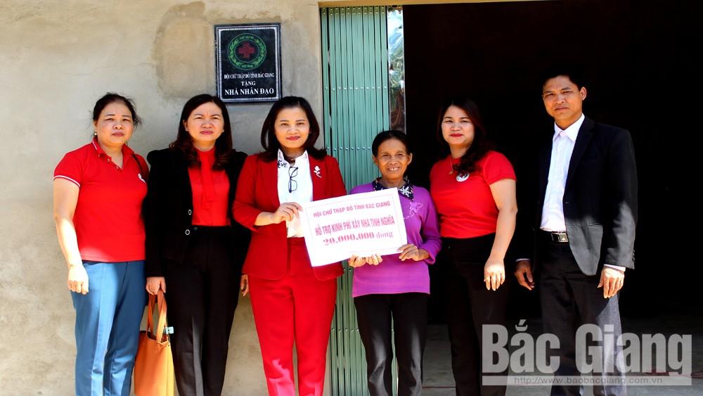 Hội Chữ thập đỏ tỉnh, bàn giao, nhà ở, cho hộ nghèo