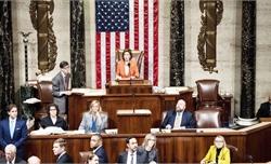 Hạ viện Mỹ thông qua nghị quyết về các thủ tục điều tra luận tội đối với Tổng thống
