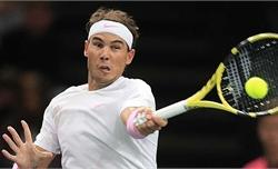 Nadal hạ Wawrinka ở vòng ba Paris Masters