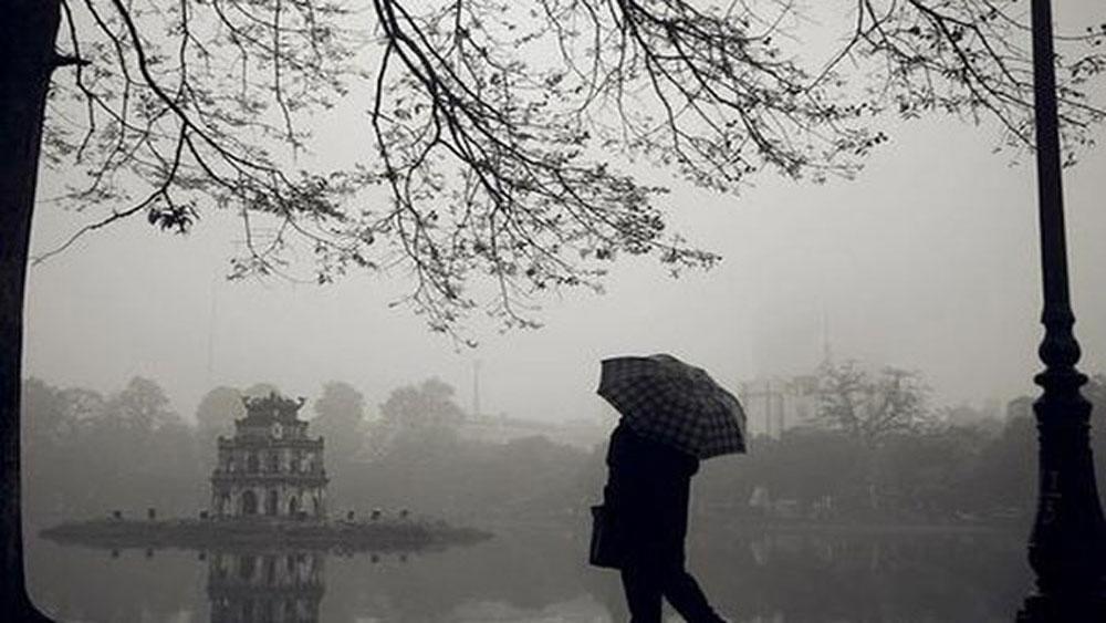 Thời tiết ngày 1-11, Miền Bắc, mưa rét, nhiệt độ, dưới 17 độ C