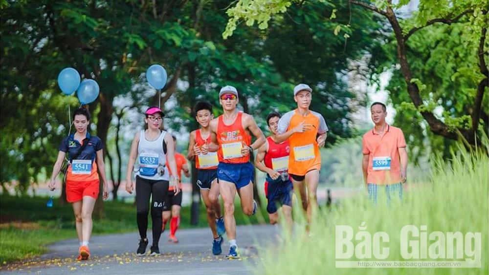 Bắc Giang, chạy bộ, giải marathon,  gây quỹ vì cộng đồng