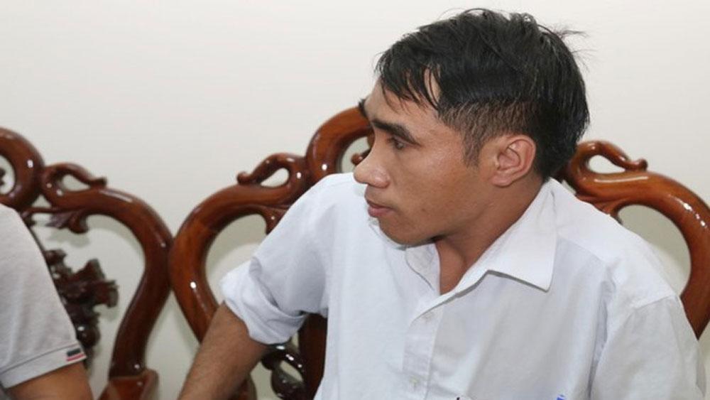 Bắt quả tang, đối tượng, tự xưng phóng viên, tống tiền bệnh viện, Đối tượng Nguyễn Hữu Nhất