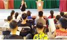 Truyền dạy hát chèo, quan họ cho học sinh xã Dĩnh Trì