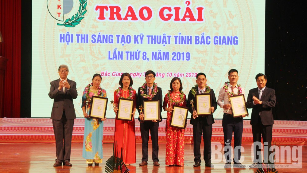 Scientific inventors, Bac Giang province, Scientific Innovation Contests, useful products, outstanding achievements, qualified human resource