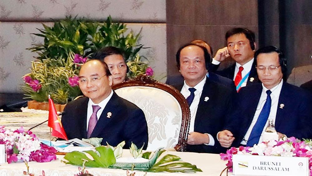 Hội nghị Cấp cao ASEAN 35, Thủ tướng Nguyễn Xuân Phúc, Phiên toàn thể Hội nghị Cấp cao ASEAN 35