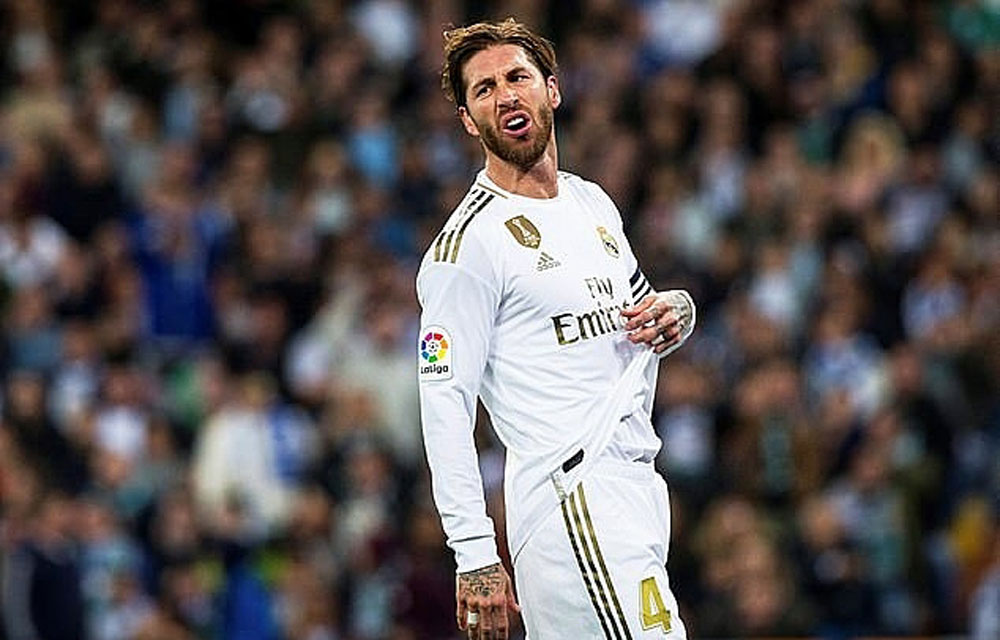 Sergio Ramos, Real Madrid, Real Betis, La Liga, Barca, Eden Hazard