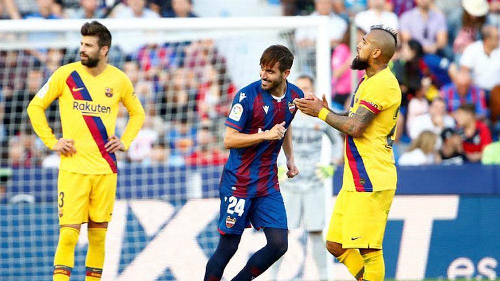 Barca, Levante, Clip Levante 3-1 Barca, Messi, Levante 3-1 Barca