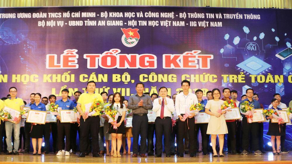 Kiên Giang, giải Nhất toàn đoàn, Hội thi Tin học khối cán bộ, công chức trẻ toàn quốc lần thứ VII-2019