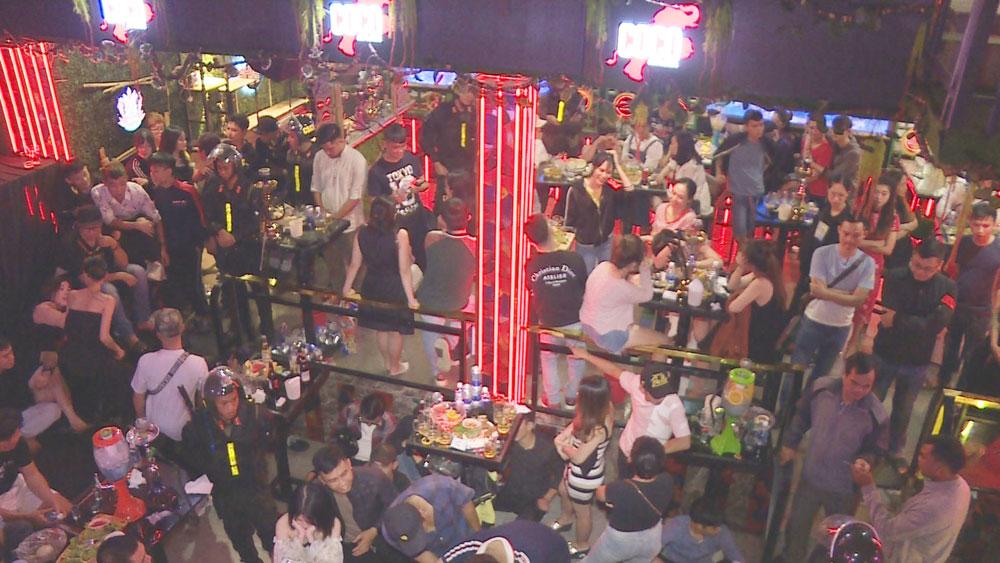 Hoàng Minh Tuấn , Đắk Lắk, phát hiện, 90 đối tượng, sử dụng chất ma túy, quán bar, karaoke, quán Bar G9, quán CoCo Beer, quán Karaoke The Bell
