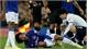 Cầu thủ Everton gãy chân trong trận hòa Tottenham