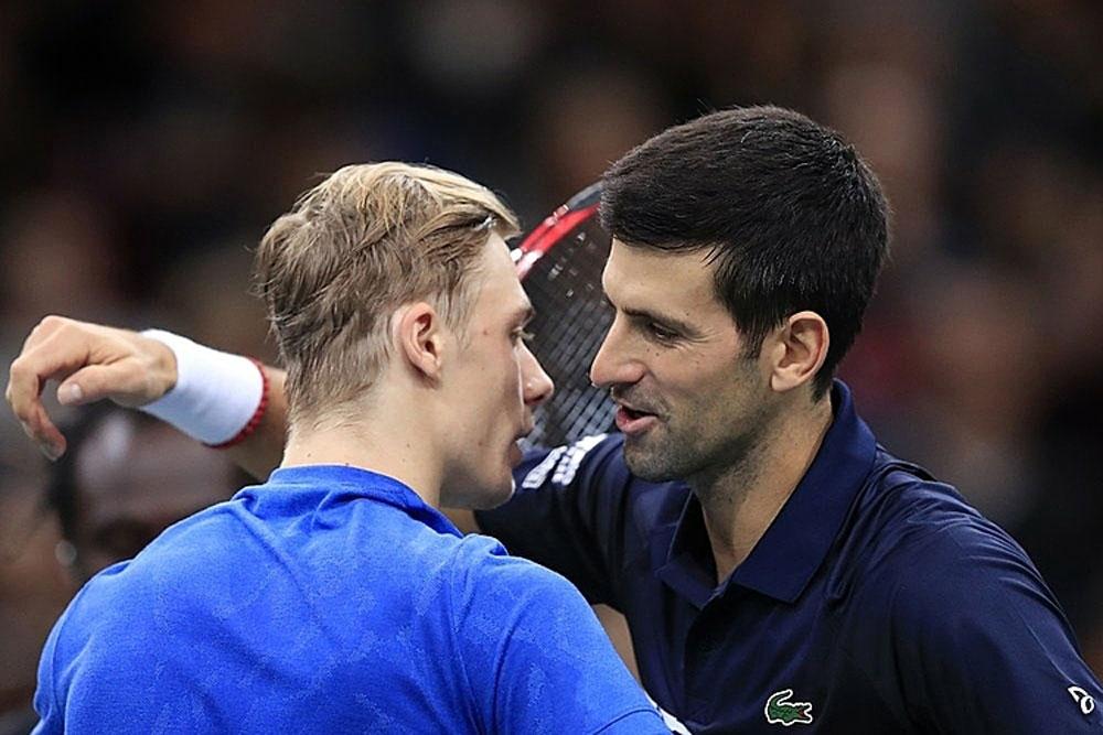 Novak Djokovic, Denis Shapovalov, Paris Masters, ATP, ATP Finals, Rafael Nadal