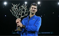 Djokovic vô địch Paris Masters
