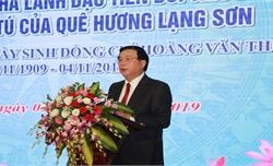 Đồng chí Hoàng Văn Thụ - nhà lãnh đạo tiền bối tiêu biểu của Đảng, người con ưu tú của quê hương Lạng Sơn