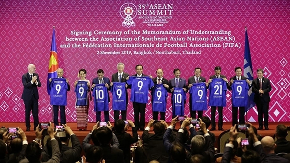 ASEAN, FIFA agree to cooperate to develop football in Southeast Asia
