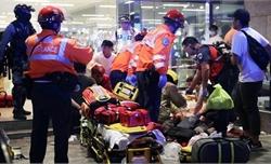 Đâm dao ở Hong Kong (Trung Quốc), nhiều người bị thương