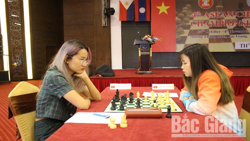 Vo Thi Kim Phung, Bac Giang province, 1 gold, 1 silver, 2019 ASEAN Chess Championship, ASEAN Chess Confederation