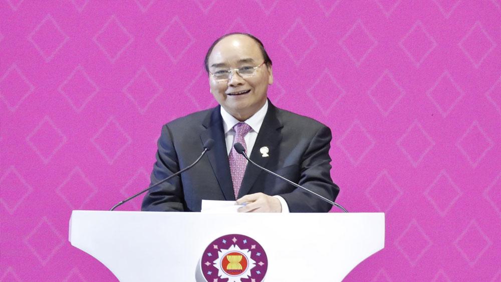 Hội nghị Cấp cao ASEAN 35, Thủ tướng Nguyễn Xuân Phúc, công bố, chủ đề của Năm ASEAN 2020
