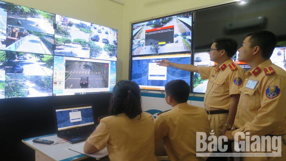 an toàn giao thông, Bắc Giang, giao thông,vi phạm,