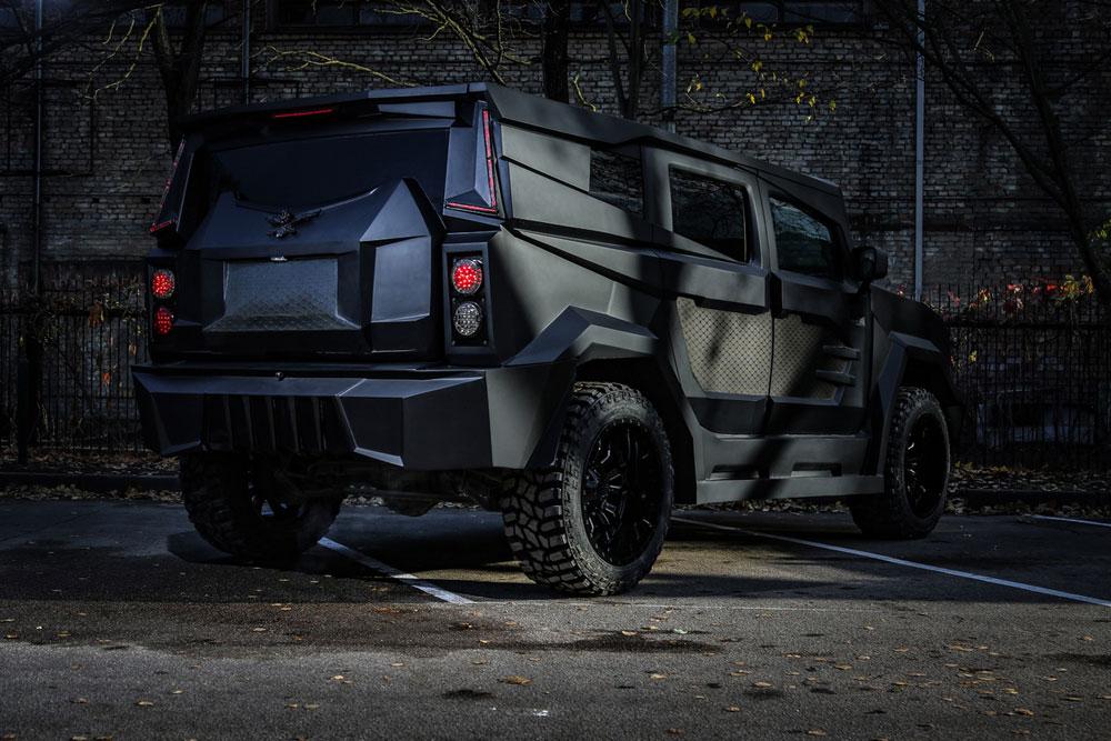 bản độ, xe độ, Dartz Motors, Dartz Prombron Black Stallion