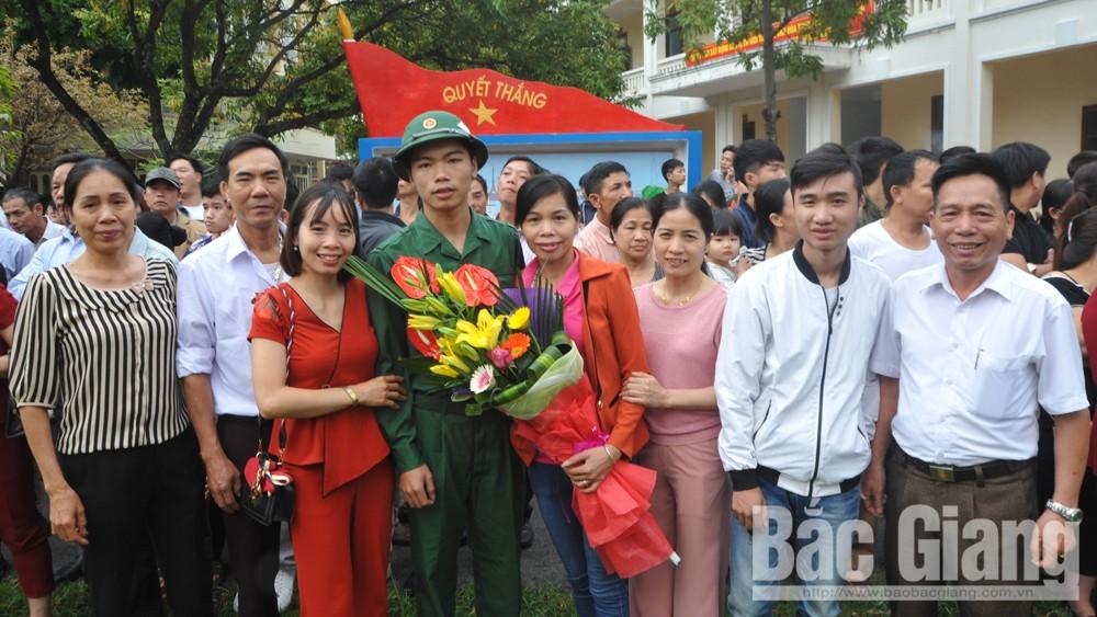 chỉ tiêu, tuyển chọn, nhập ngũ, Bắc Giang