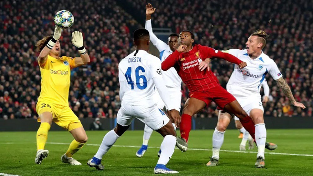 Liverpool, Genk, Champions League
