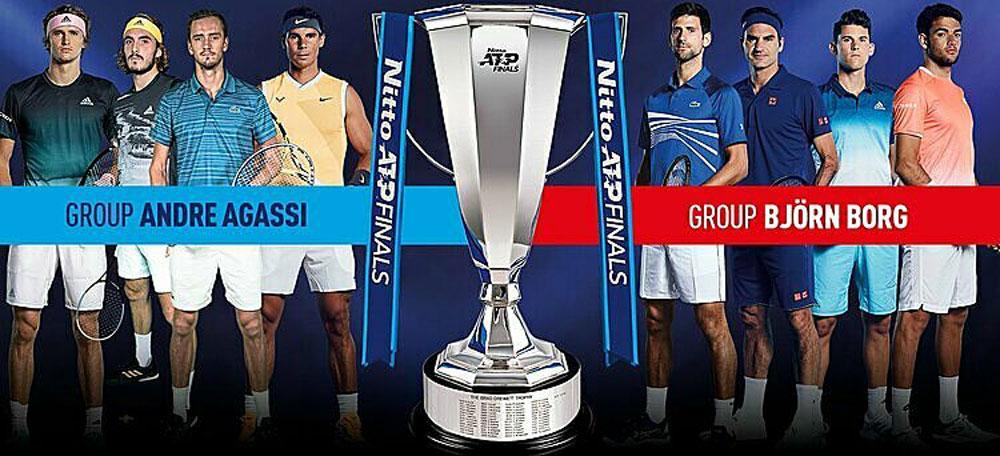 Novak Djokovic, Rafael, Nadal Roger, Federer, ATP Finals