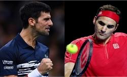 Djokovic cùng bảng Federer ở ATP Finals