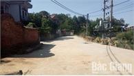 Xã Lão Hộ (Yên Dũng): Thất thoát bê tông làm đường nông thôn