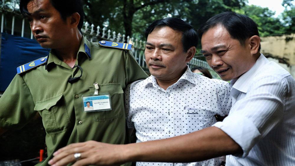 Xử phúc thẩm, Nguyễn Hữu Linh, dâm ô bé gái trong thang máy