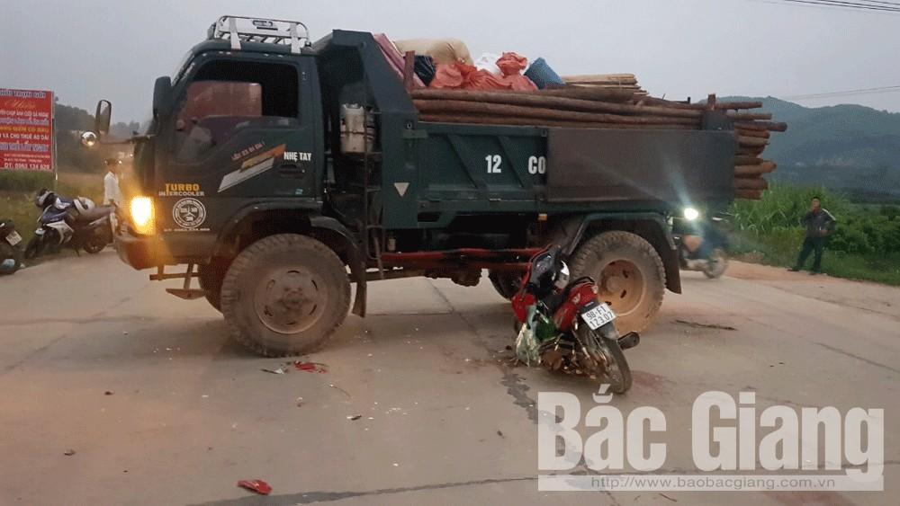 tai nạn giao thông, Bắc Giang, Tân Yên