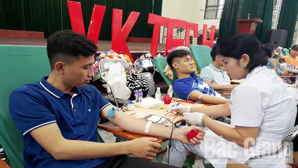 hiến máu, tỉnh nguyện, Chữ thập đỏ, đơn vị