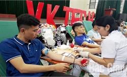 Tỉnh Bắc Giang tiếp nhận 20,9 nghìn đơn vị máu trong năm 2019