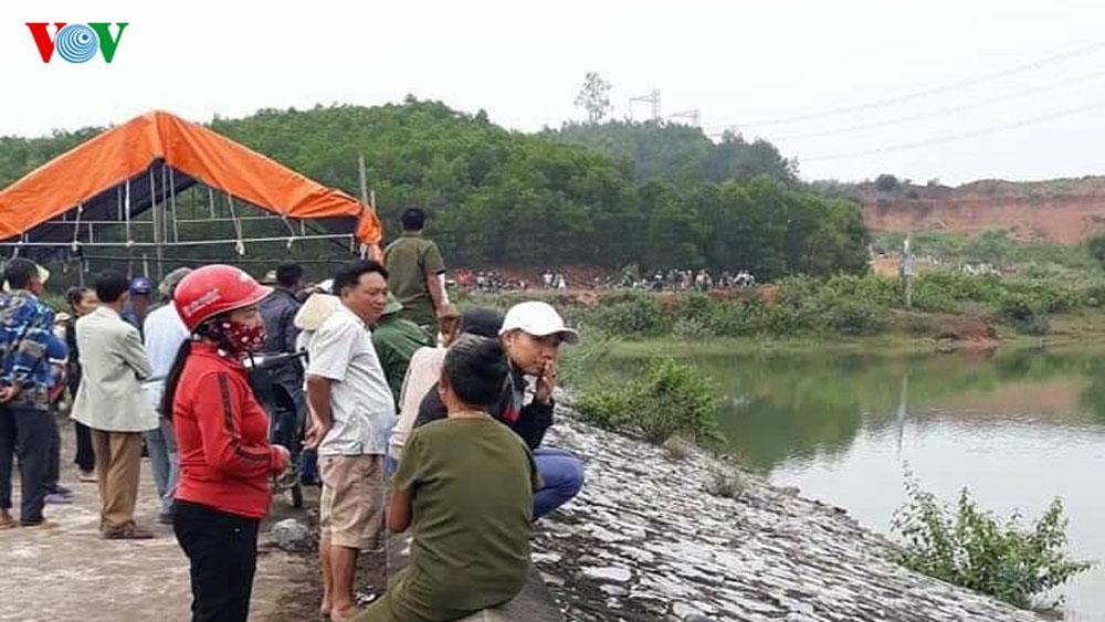 Diễn biến mới nhất , vụ thi thể nữ sinh nổi trên đập, 2 ngày mất tích, đập Bàu Ganh