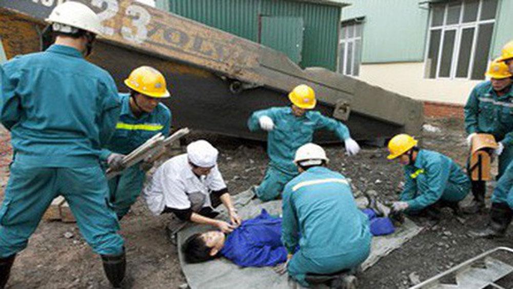 Cần Thơ, Tai nạn lao động, công trình Khu đô thị mới Thới Lai, 5 người bị thương