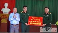 """Bộ CHQS tỉnh Bắc Giang trao """"Nhà đồng đội"""" cho anh Nguyễn Văn Đông"""