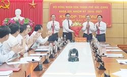 Ông Vũ Trí Hải giữ chức Phó Bí Thư Thành ủy, Chủ tịch UBND TP Bắc Giang