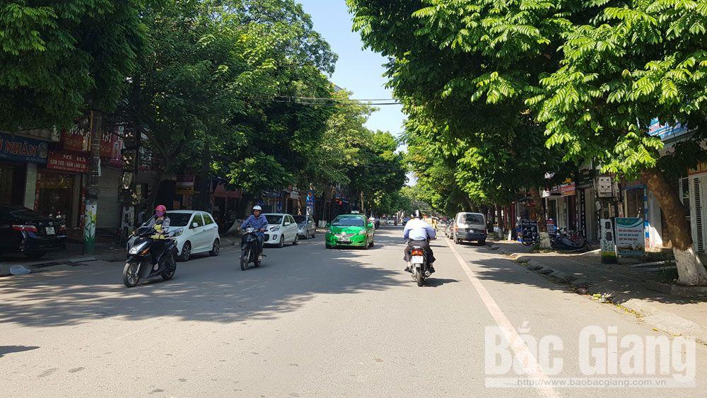 TP Bắc Giang,, phường, xã, đô thị, hạ tầng, cây xanh, công viên