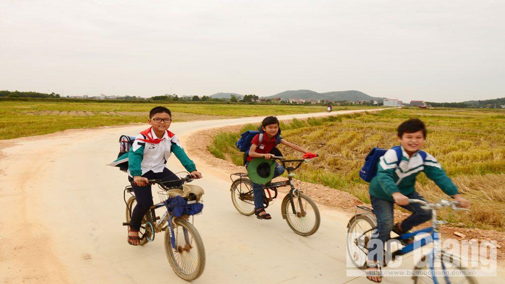 nông thôn mới, Bắc Giang, Lục Nam, hương trình mục tiêu quốc gia xây dựng nông thôn mới