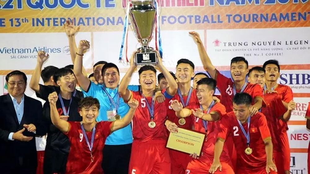 Vietnam U21s crowned champions at int'l U21 football tournament