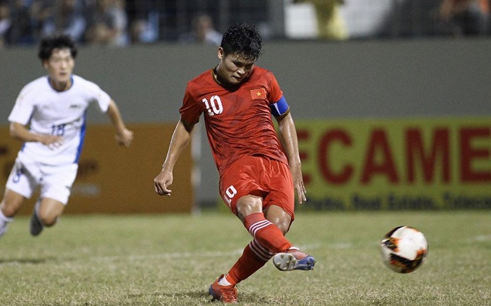 Vietnam, champions, int'l U21 football tournament, unanswered goals, final match,  overall trophy, strong determination
