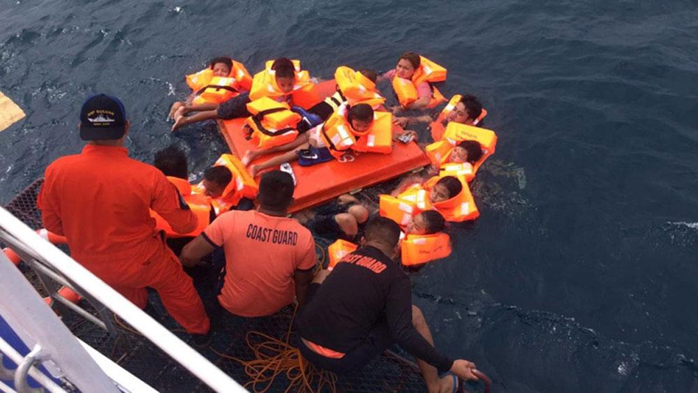 Lật phà chở 60 người ở Philippines, đảo Cebu, miền trung Philippines, phà MV Siargao Princess