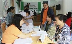Khám sức khỏe miễn phí cho gần 100 hội viên phụ nữ nghèo