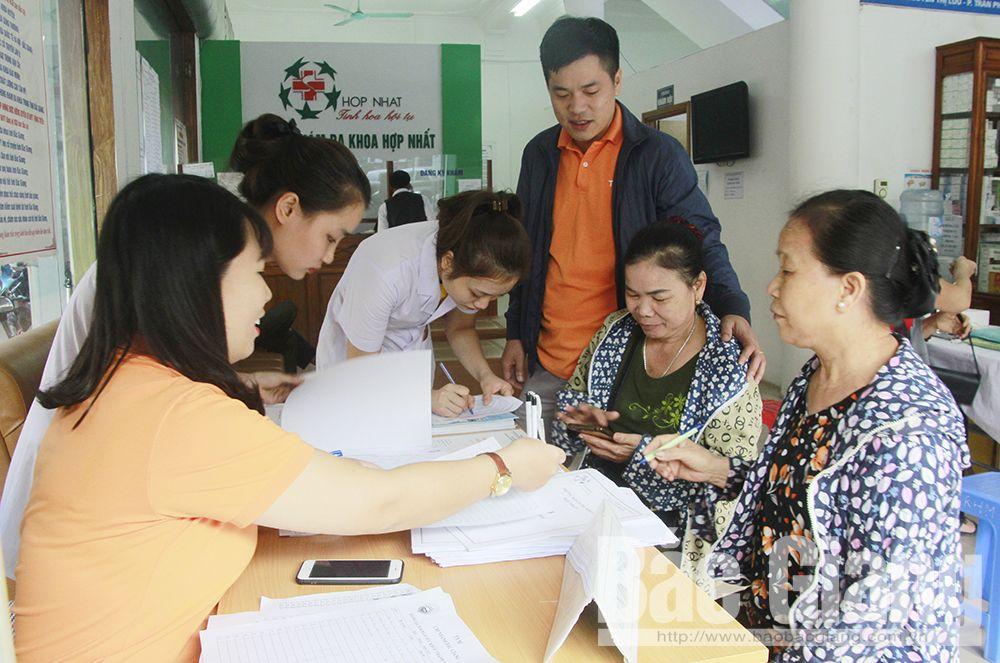 Bắc Giang, khám tư vấn sức khỏe cho phụ nữ, Quỹ TYM, Tổ chức Tài chính vi mô Tình thương Bắc Giang