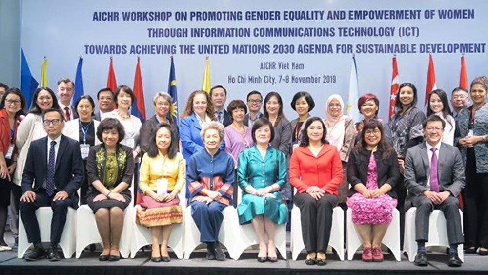 ICT helps promote gender equality, empowerment of women