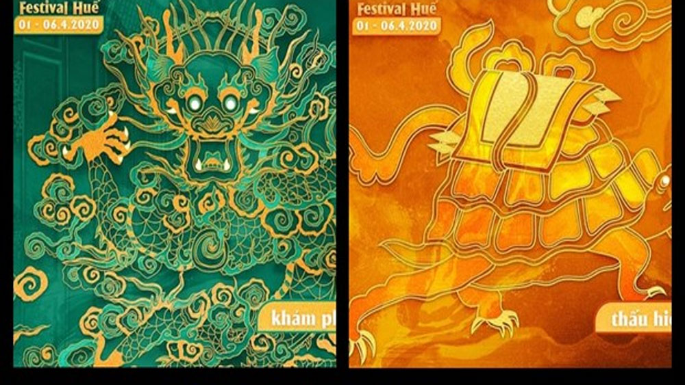 Four sacred animals to represent Hue Festival 2020