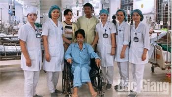 Bắc Giang: Một bệnh nhân mắc Whitmore xuất viện sau hơn 2 tháng điều trị