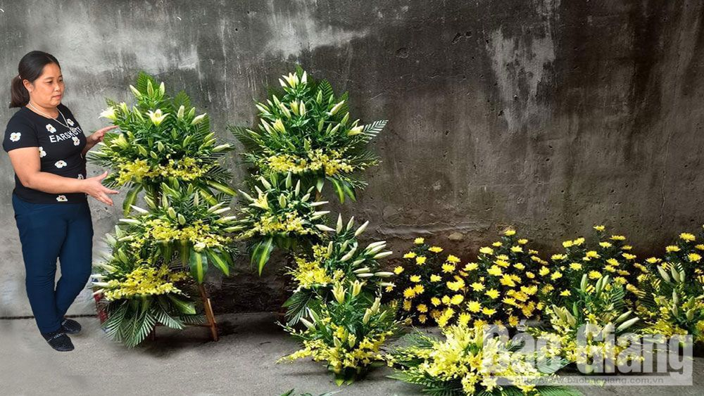 tang lễ, dịch vụ tang lễ, mai táng, Bắc Giang, nếp sống văn minh