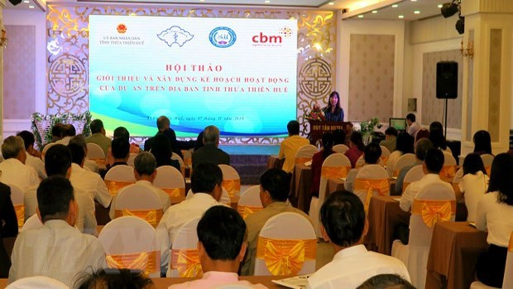 Project to support physically impaired people in Thua Thien-Hue