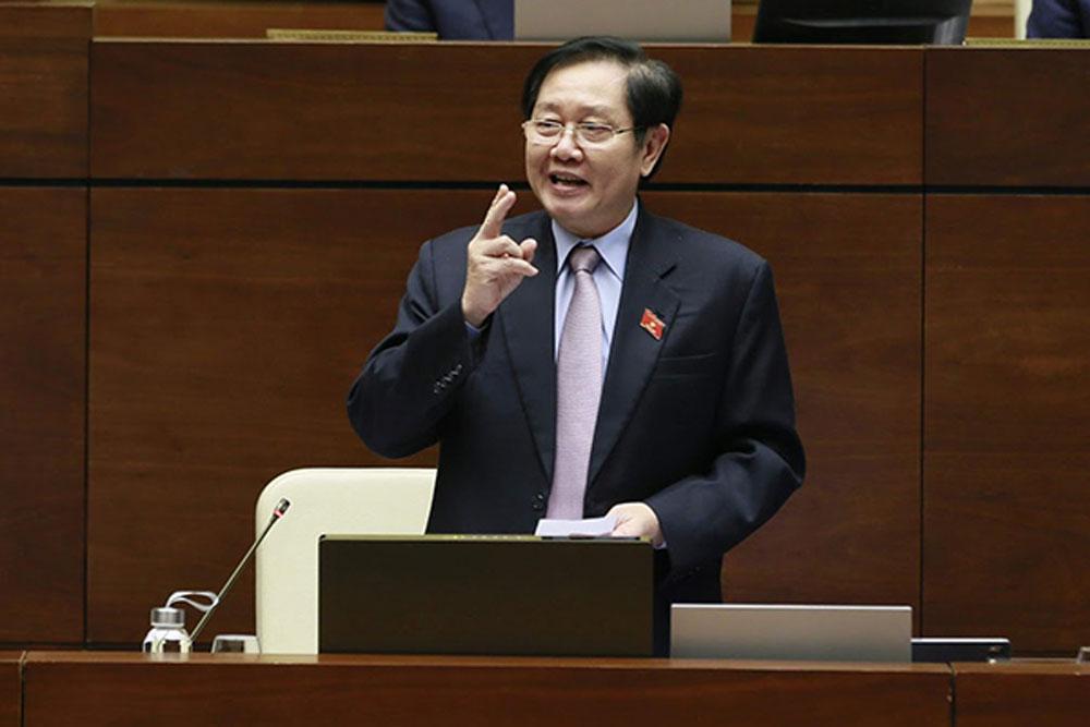 Chủ tịch Quốc hội, chấm điểm, 4 bộ trưởng , sau chất vấn