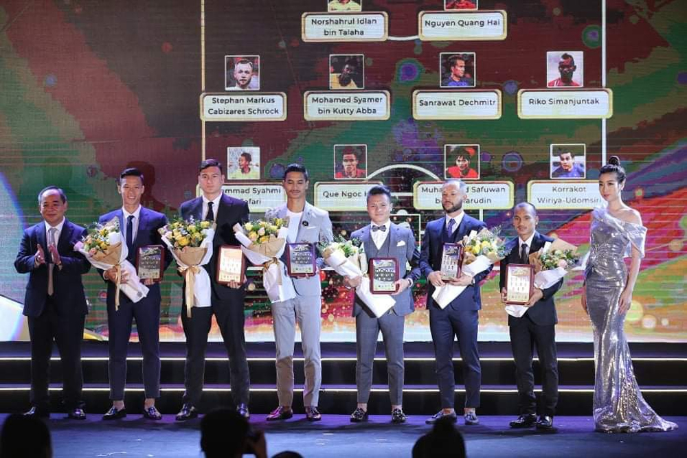 HLV Park Hang Seo, vòng loại World Cup 2022, AFF Award Night, Tan Cheng Hoe, VFF